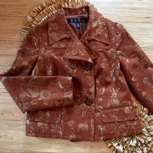 Luxury Is A State Mind Apostrophe Jacket Size 12